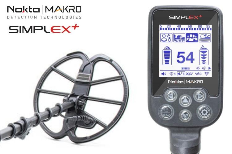 Nokta/Makro Simplex+ Metalldetektor